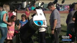 Royal Astronomical Society of Canada uses solar eclipse to introduce Edmontonians to their passion